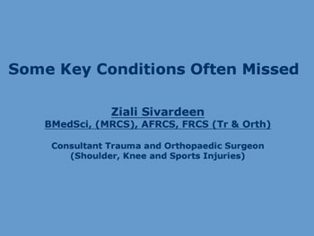 some-key-conditions-often-missed